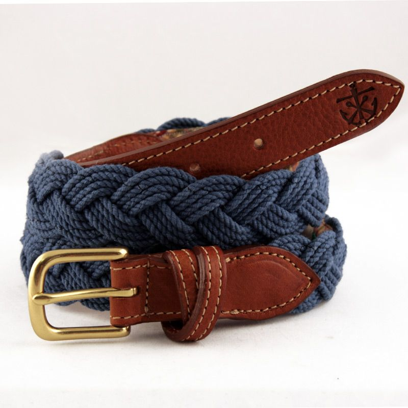 Men S Belt Coastal Creations Design Anchors Away New England
