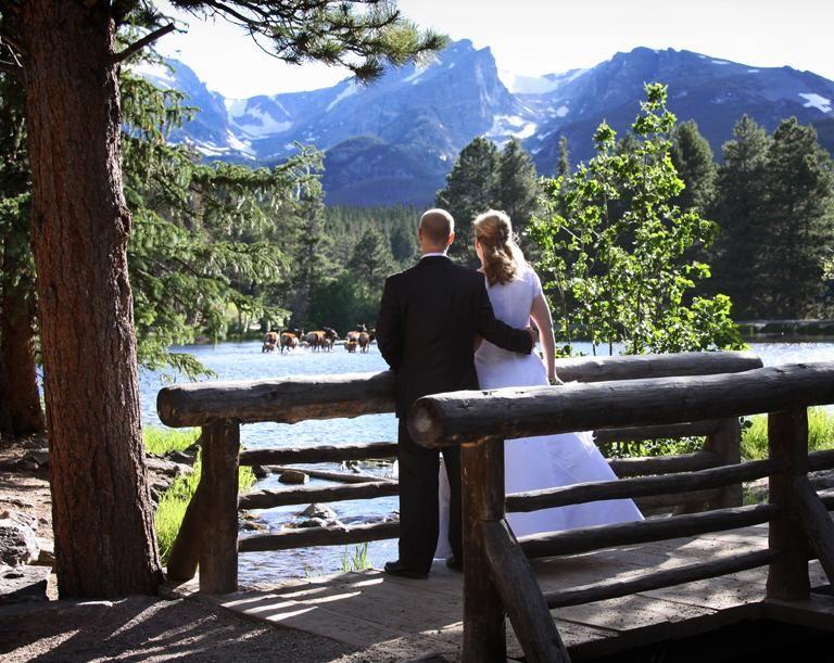 Sprague Lake in late spring | Colorado wedding locations ...
