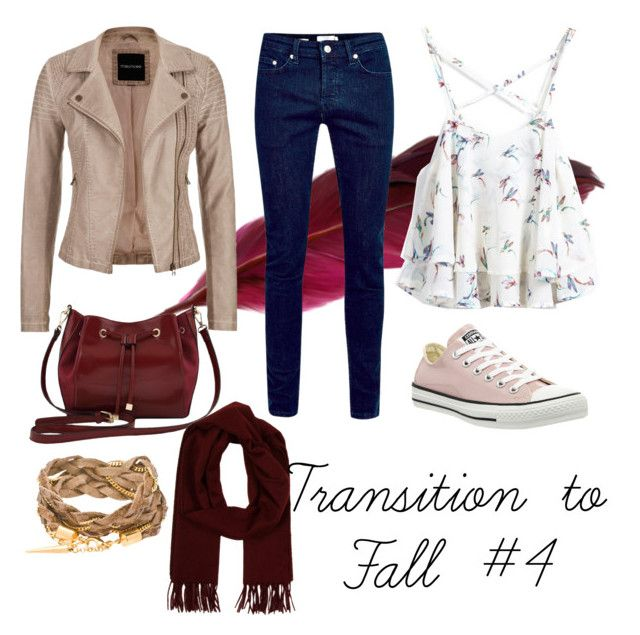 """""""Transition to Fall Series"""" by janaehallinan ❤ liked on Polyvore featuring Converse, maurices, M&Co, Loro Piana, Sheinside and shein"""