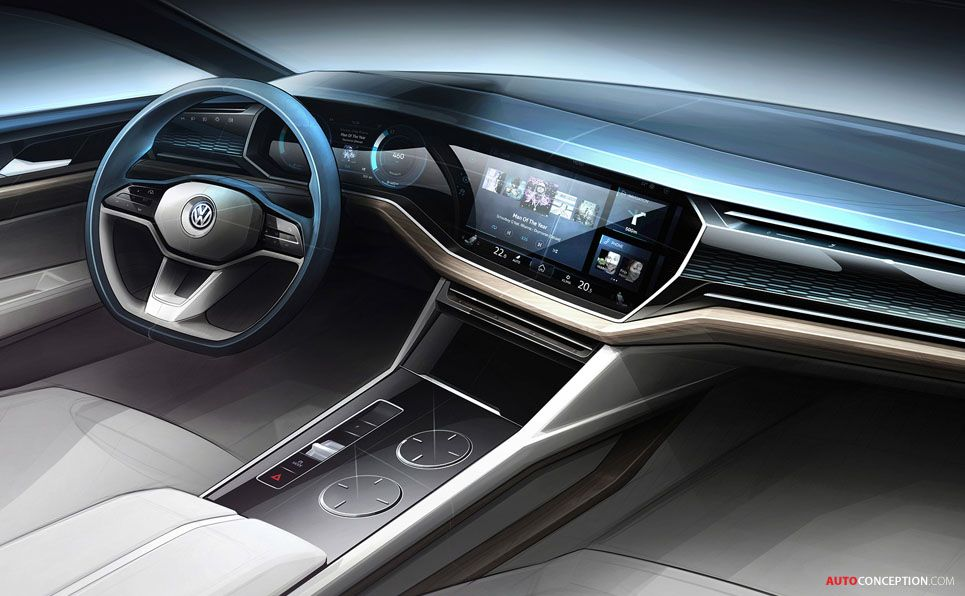 Volkswagen Previews Next Generation Touareg With T Prime Concept