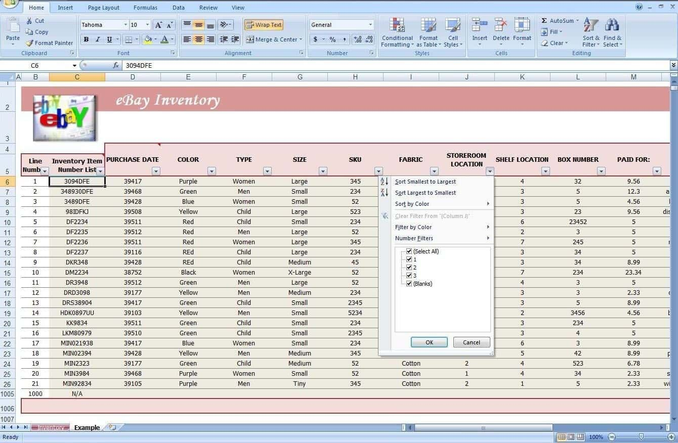 Stock Management Software In Excel Free Download And