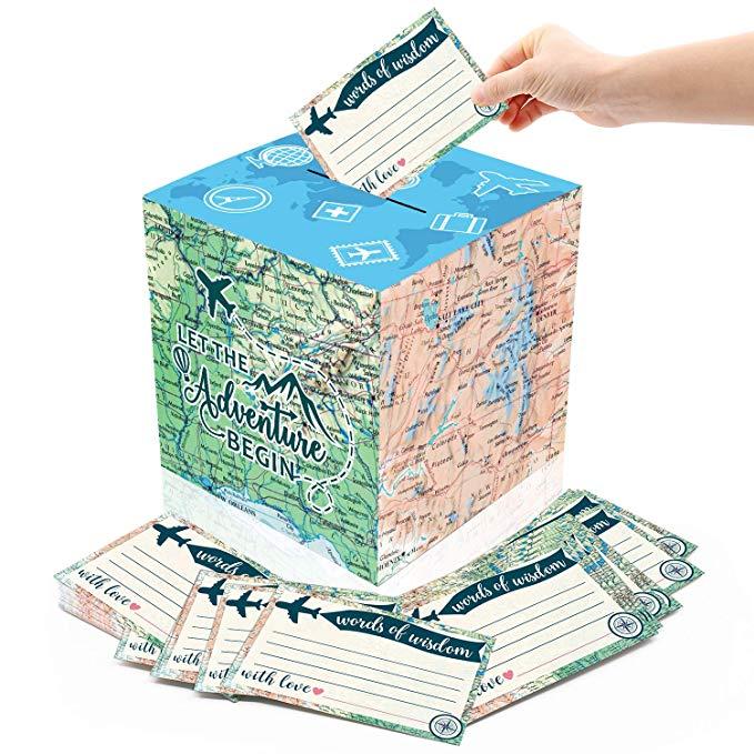 amazon 51pcs adventure card box holder and advice