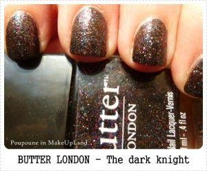 Butter London the dark knight