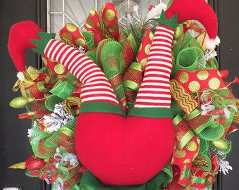 whimsical christmas wreath christmas by occasionsboutique on etsy