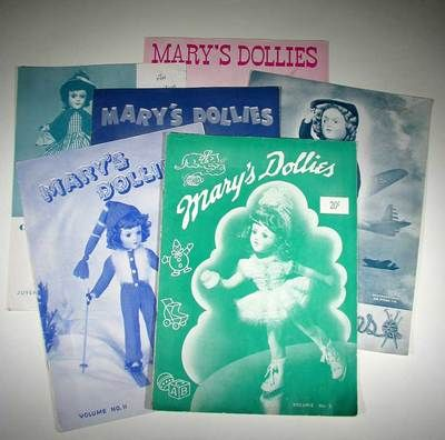5 Vintage MARY'S DOLLIES Instruction Books for KNIT DOLL CLOTHES by MARY HOYER | eBay
