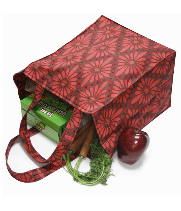 Make your own reusable grocery bag using this template from ...