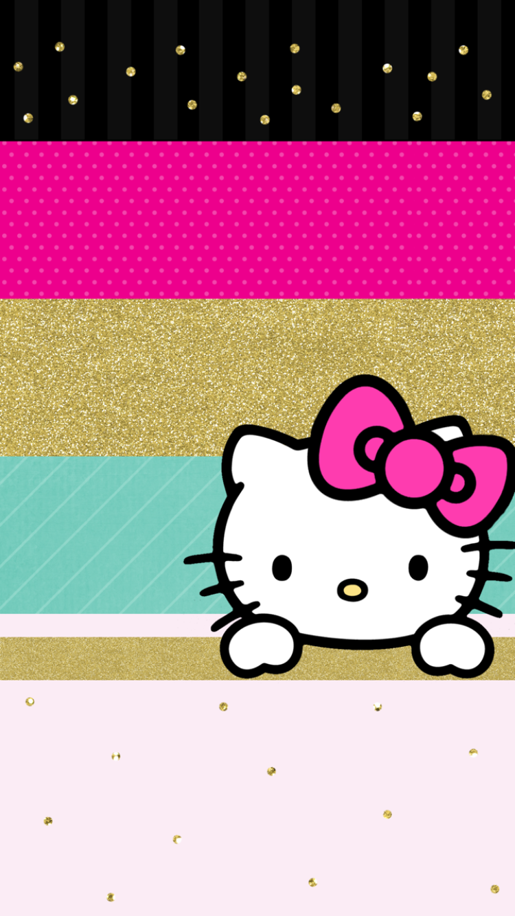 Cute Wallpapers Iphone Hello Kitty Wallpaper Sanrio Paint Colors Art Cartoon Characters Girly Things