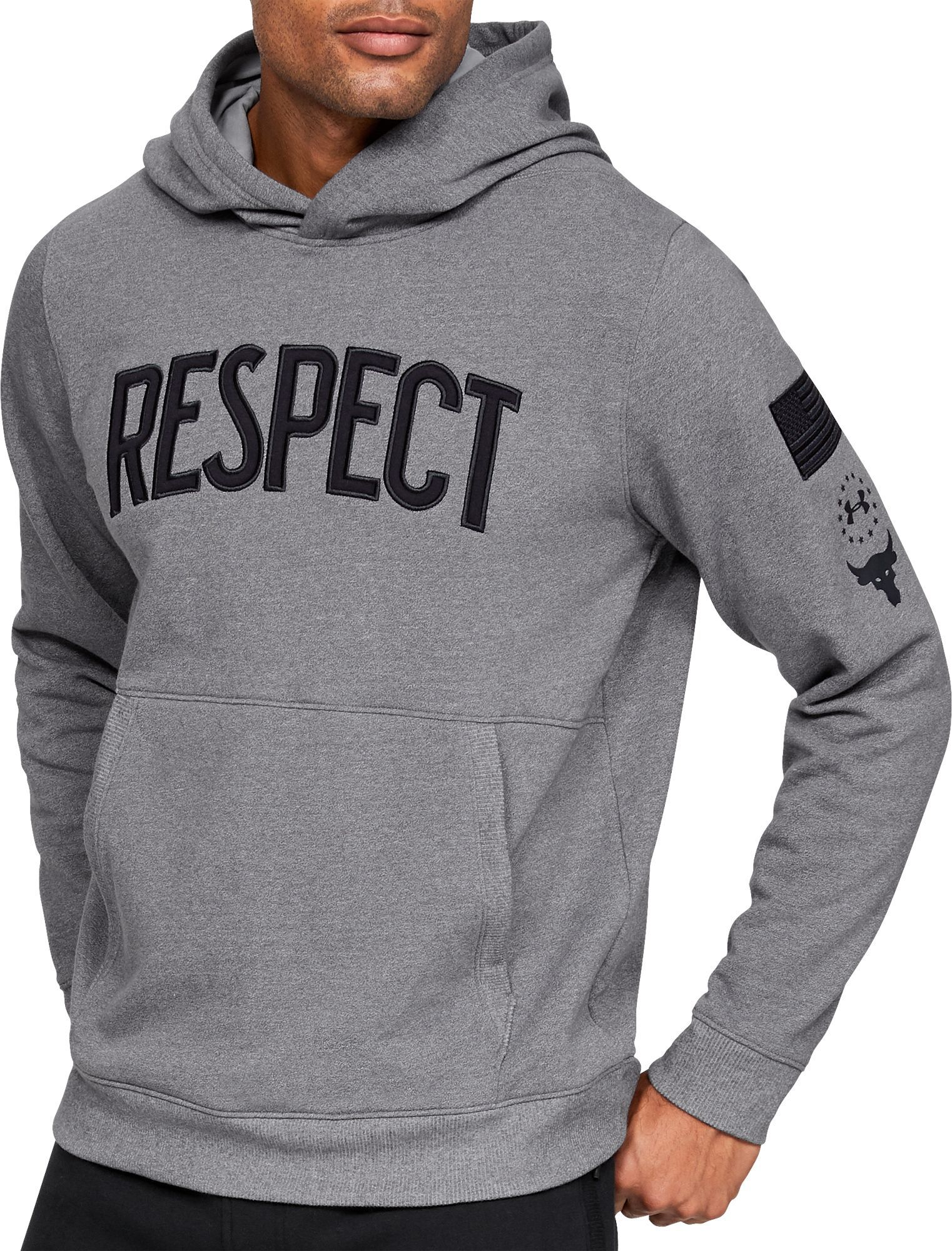 0bd76bbb7f Under Armour Men's Project Rock Usdna Hoodie | Products | Under ...