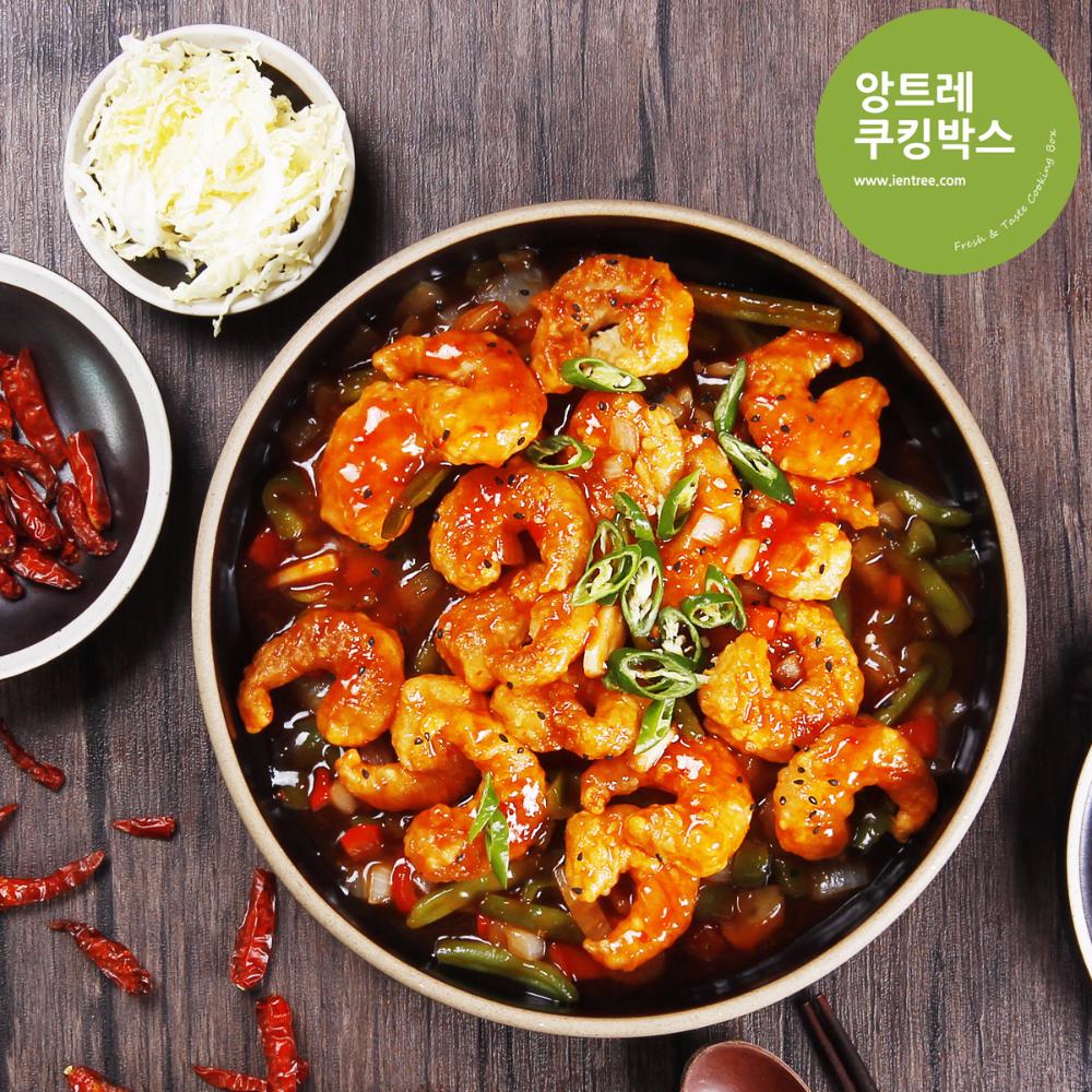 매콤달콤 깐쇼새우 2인분 Easy 이마트몰 당신과 가장 가까운 이마트 2020 요리 식품 아이디어 음식