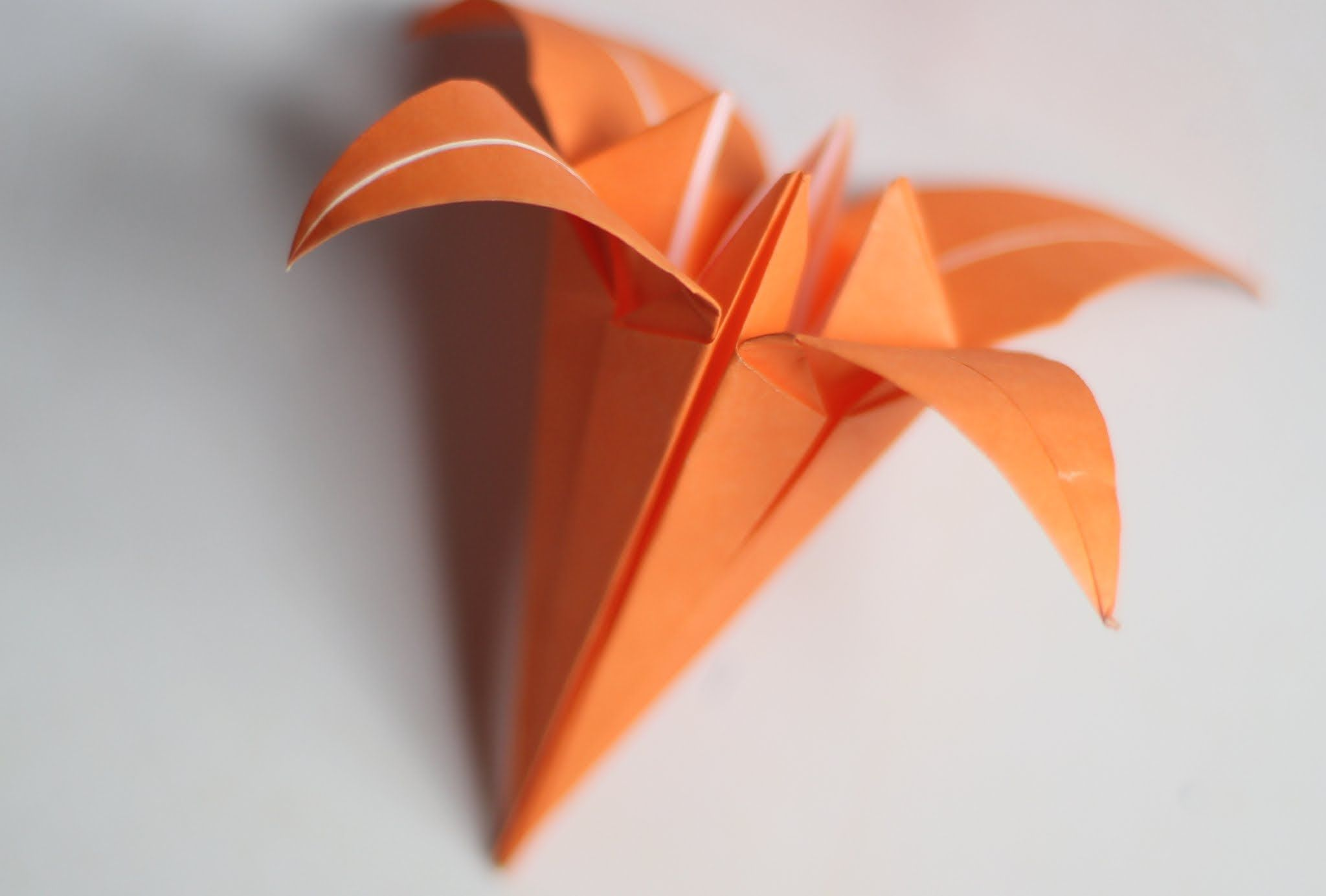 Hd Origami Lilyiris Flower Origami Instructions Origami