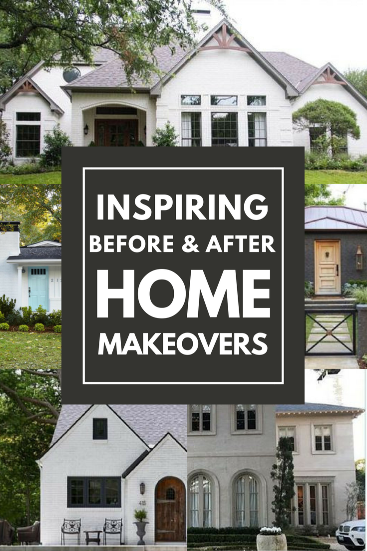 Inspiring Before and After Exterior Renovations for Improved Curb ...