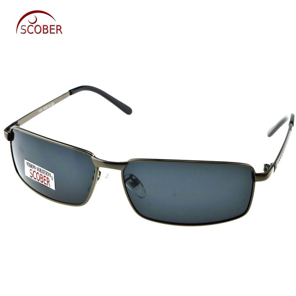 f34eb8f296 SCOBER   2017 Masculine designer TAC Enhanced Polarization polarized square  grey lenses rectangular driving fishing sunglasses Riding glasses