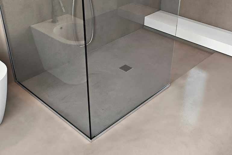 Flush fitting shower tray BASIC SHOWER by MAKRO Bathroom