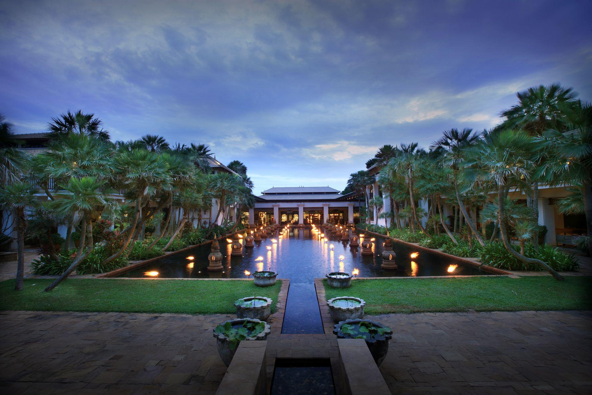 Lotus pond at JW Marriott Phuket Resort