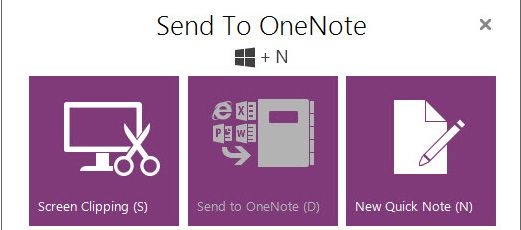 "Fix ""Send to OneNote 2016/2015/2014 from Explorer"