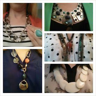 paNASH Style: A Peek Inside the paNASH Style Closet: Necklaces! #paNASHstyle