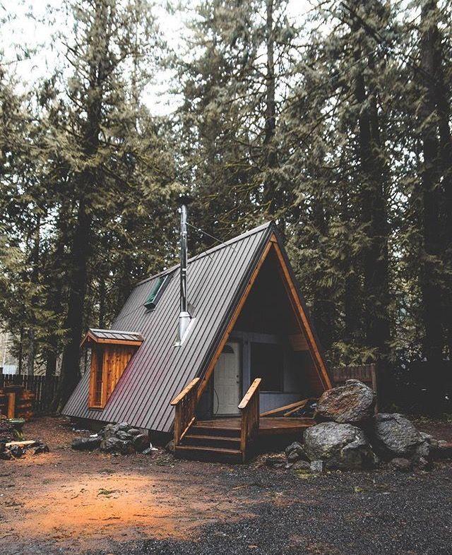 Angled steps proyecto caba as de madera caba as for Casa de campo en sevilla para alquilar