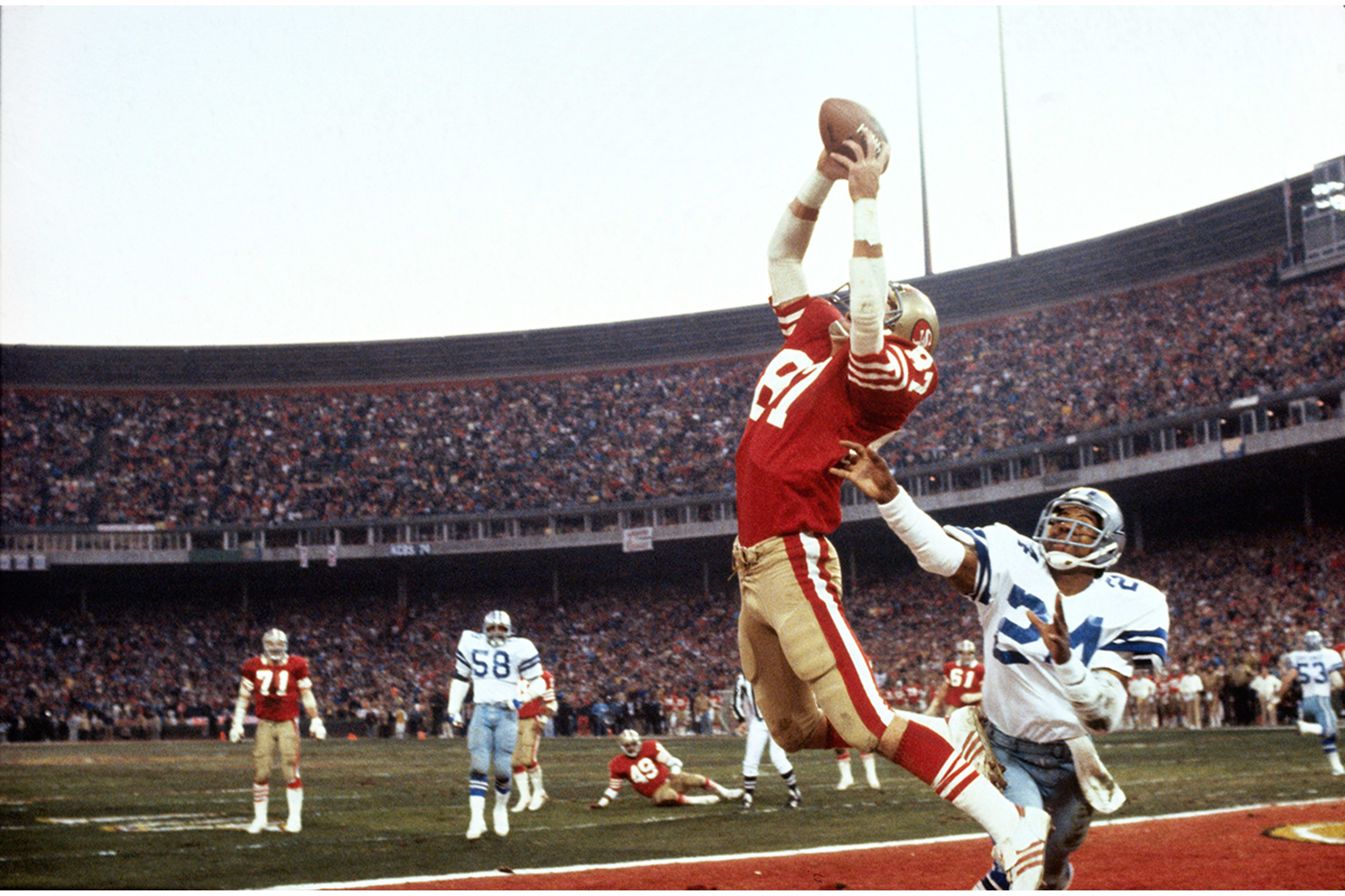 01d0db80bfc Wide Receiver Dwight Clark -