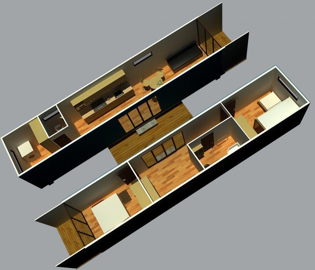 Best Kitchen Gallery: 40 Foot Container Home Pictures In 20 Foot Or 40 Foot Varieties of 40 Foot Container Homes on rachelxblog.com