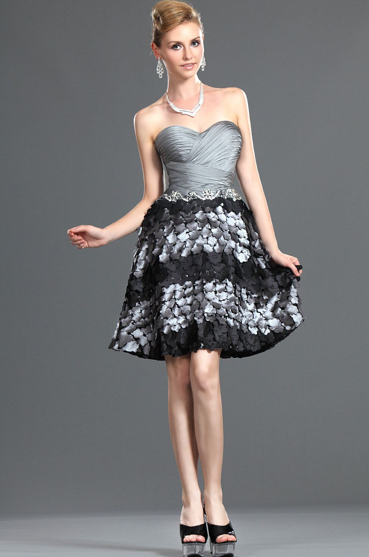 Cocktail Dress Strapless Party Dress Dresses A Line Cocktail Dress [ 1500 x 996 Pixel ]