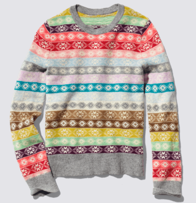 http://gapgiftguide.com/product/106118 // We LOVE this colorful & festive sweater #GiveThemGap