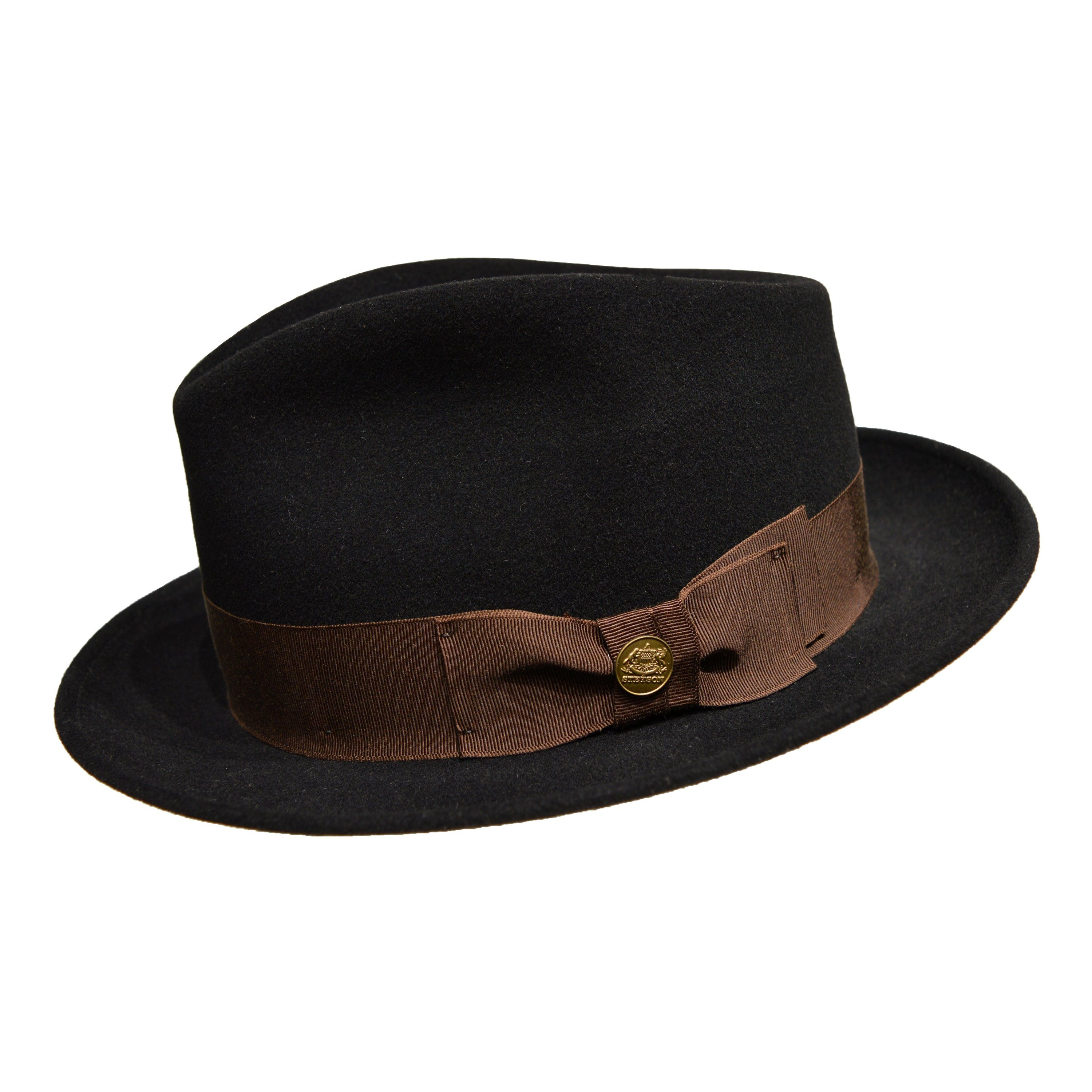 The Stetson Grayson Soft Felt Fedora is a handsome hat made from the  softest felt for ae9d88fdeb95