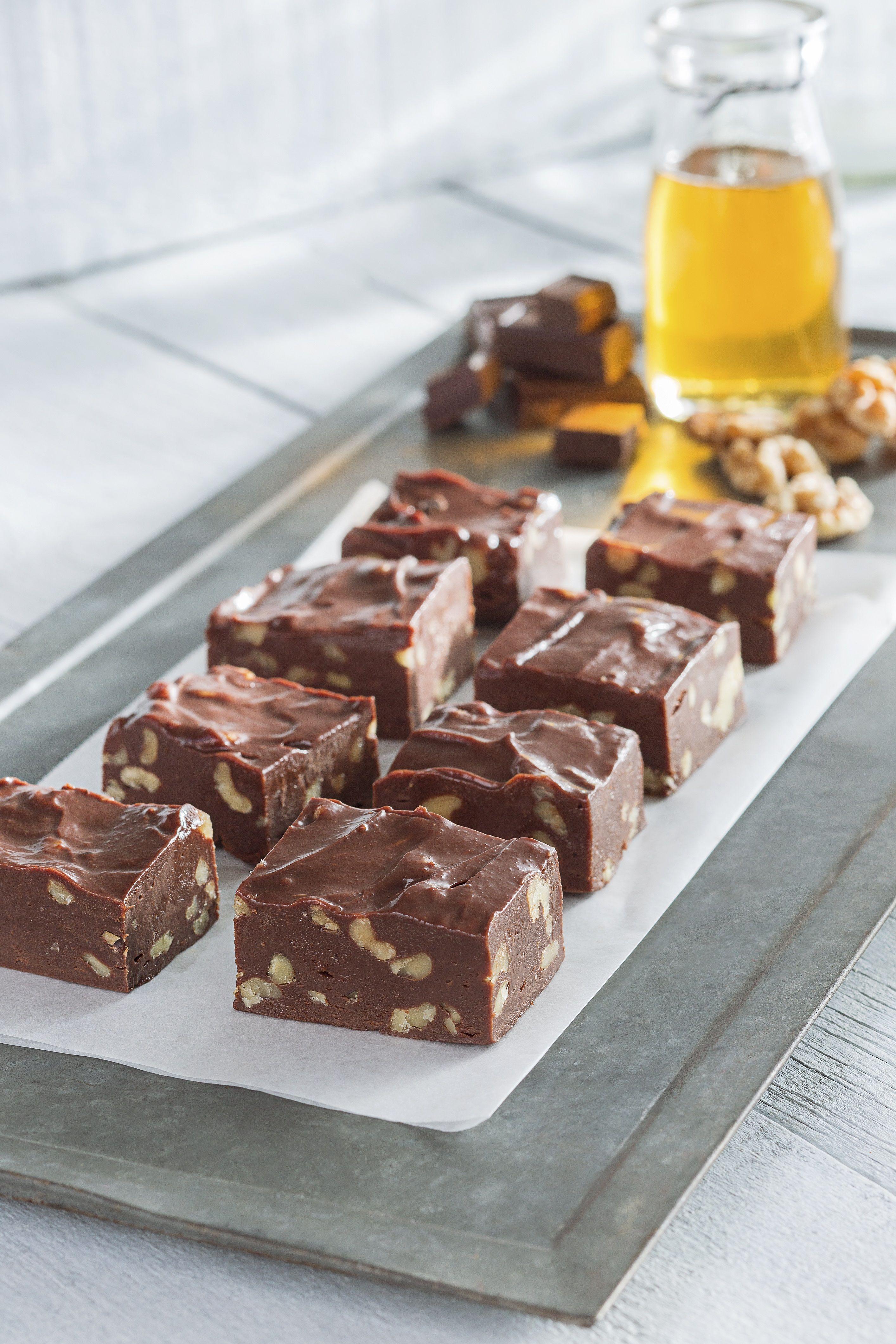 Chocolate Walnut Fudge Recipe Walnut Fudge Chocolate Walnut Fudge Fudge Recipes