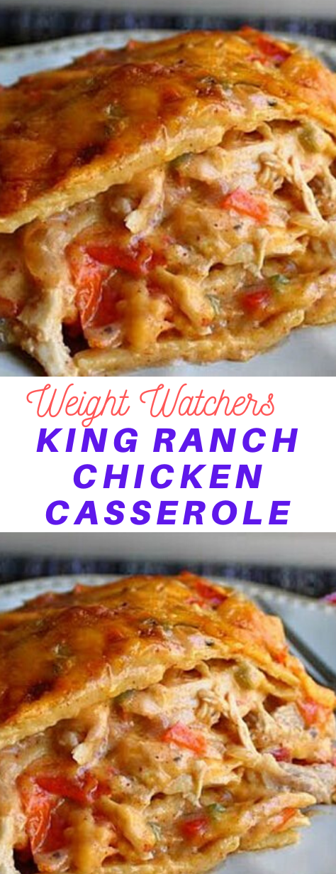 King Ranch Chicken Casserole #King #Ranch #Chicken #Casserole #Weight_watchers #Weightwatchers