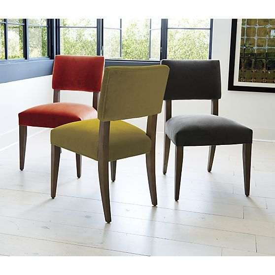 Cody Side Chair in Dining Chairs | Crate and Barrel | Colorful ...