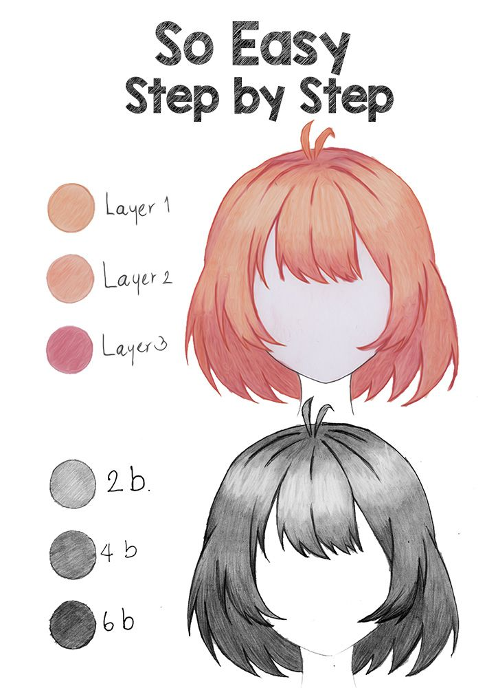 Photo of 2 Easy Ways to Draw Anime Hair | Step by Step Tutorial for Beginners
