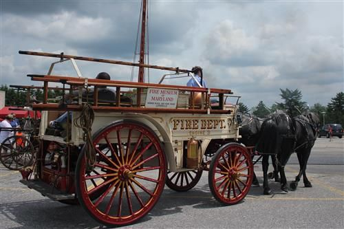 Event Dates: Saturday, May 03, 2014 - Run under the cascades of water as the 1899 Steam-powered Fire Engine flows up to 500 gallons a minute! The Fire Museum in Lutherville opens the summer season with the 37th Annual Steam Show, Saturday, May 3rd, 2014, 10 - 2 p.m. See how fire engine