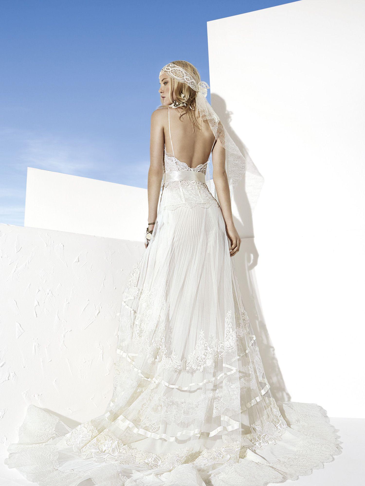 Yolancris boho chic wedding dresses vestidos dresses