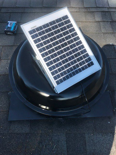 Cool Your Attic With A Solar Attic Fan No More Hot Stifling Temperatures In The Attic Keeping Y Solar Energy For Home Solar Power Diy Solar Powered Attic Fan
