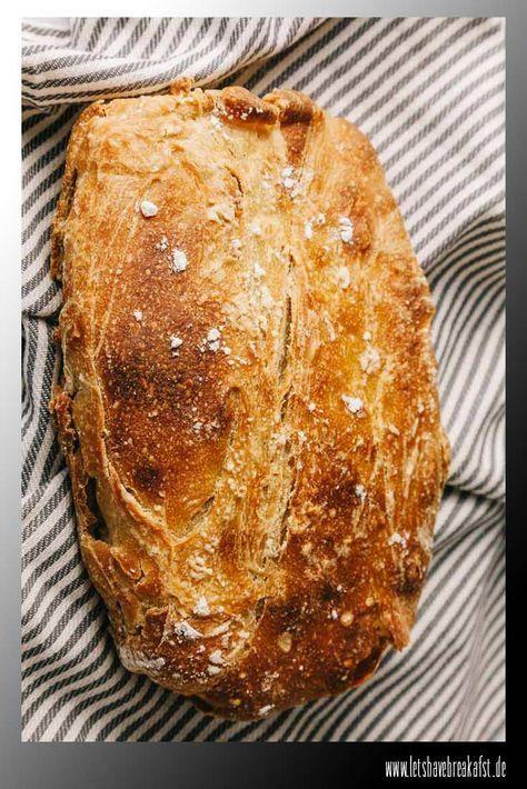 Brot backen: Dieses Kein-Kneten-notwendig – Brotrezept gelingt immer