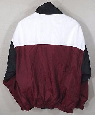 Vintage Nike Windbreaker Jacket Large Red White Blk 90s Retro Og Hip Hop  Track e7ba6dee4