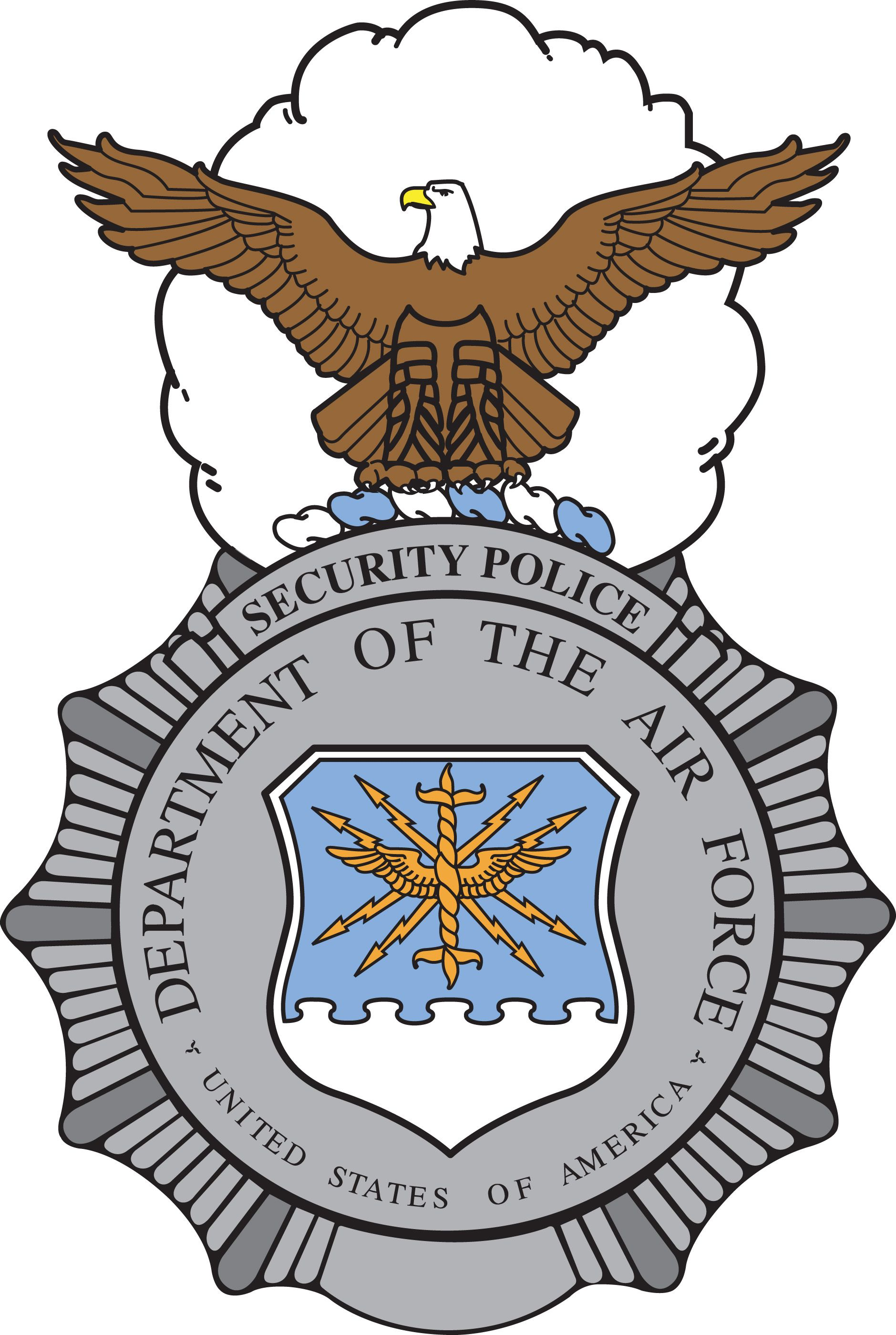 Security Police Shield Air Force Pinterest