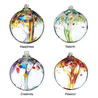 Recycled Glass Tree Globes Renewal Things Pinterest Globe
