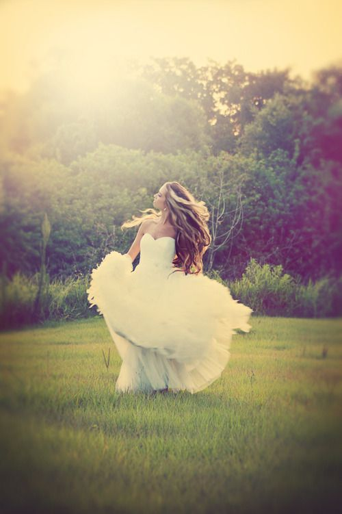 Bridal - there really aren't enough brides who twirl in their dresses...