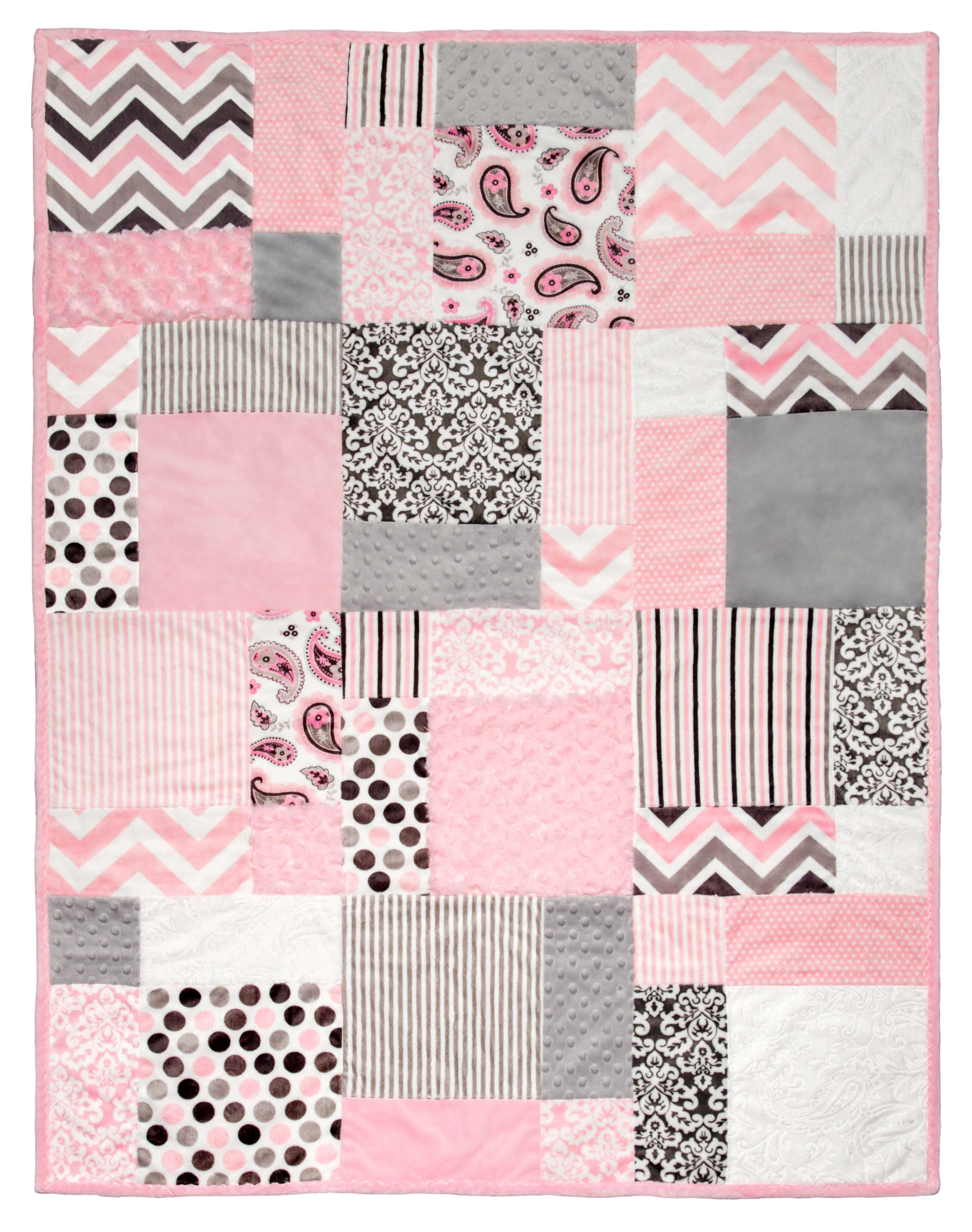 Pink Baby Girl Quilt Patterns