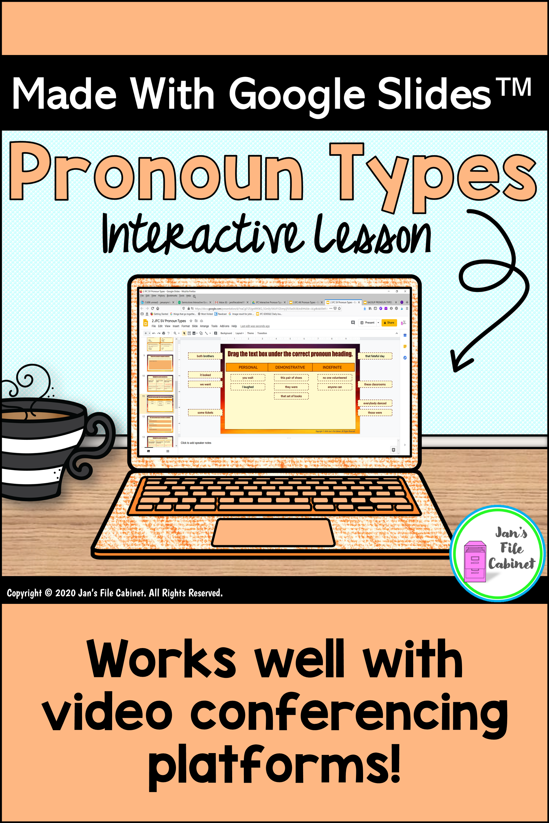 Pronoun Types Interactive Slides Lesson