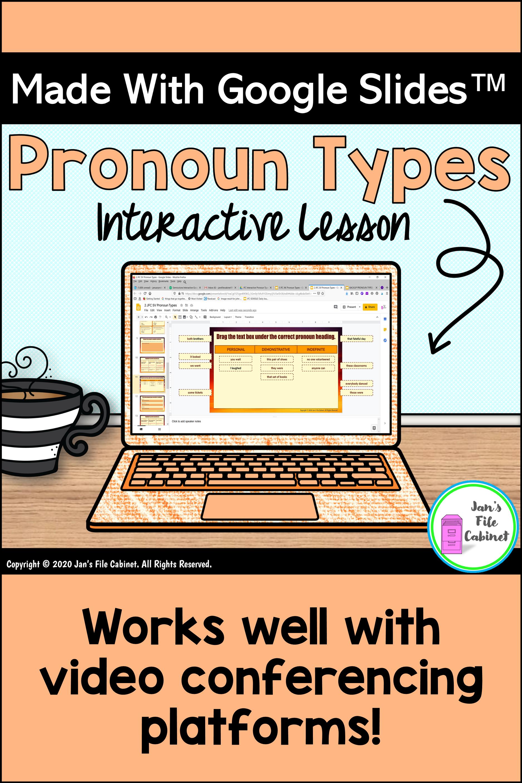 Pronoun Types Interactive Slides Lesson
