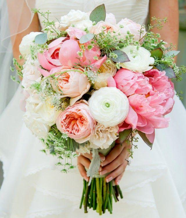 Inspiracje Sweet Wedding Blog Slubny Peony Bouquet Wedding Wedding Bouquets Spring Wedding Flowers