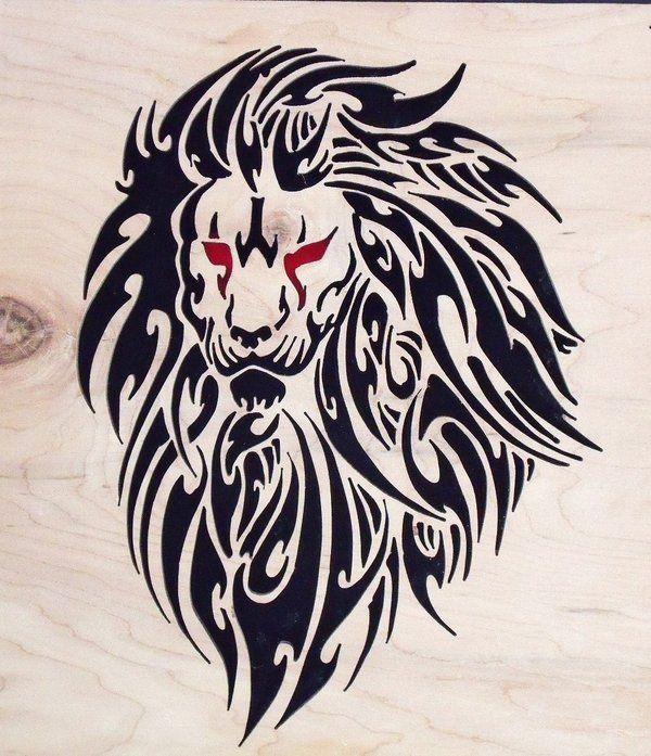 Tribal Lion By Liskie3100 On Deviantart Tribal Lion Tribal Lion Tattoo Lion Tattoo Design