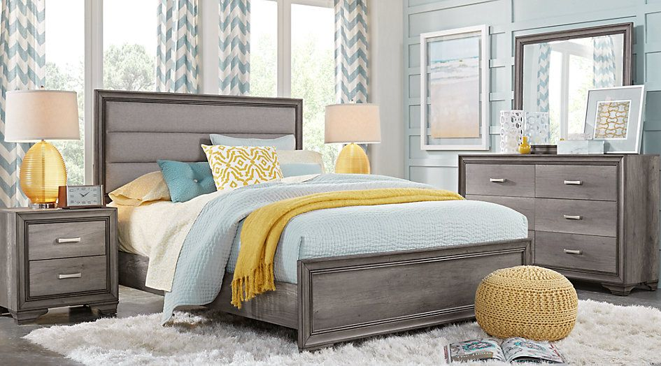 Marlow Gray 5 Pc Queen Panel Bedroom 599 0 Find Affordable Queen Bedroom Sets For Your Home That Will Quality Bedroom Furniture Bedroom Sets Remodel Bedroom