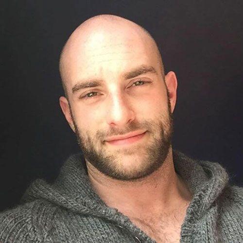 17 Bald Men With Beards Men S Hairstyles Today Bald Men With Beards Bald With Beard Bald Men