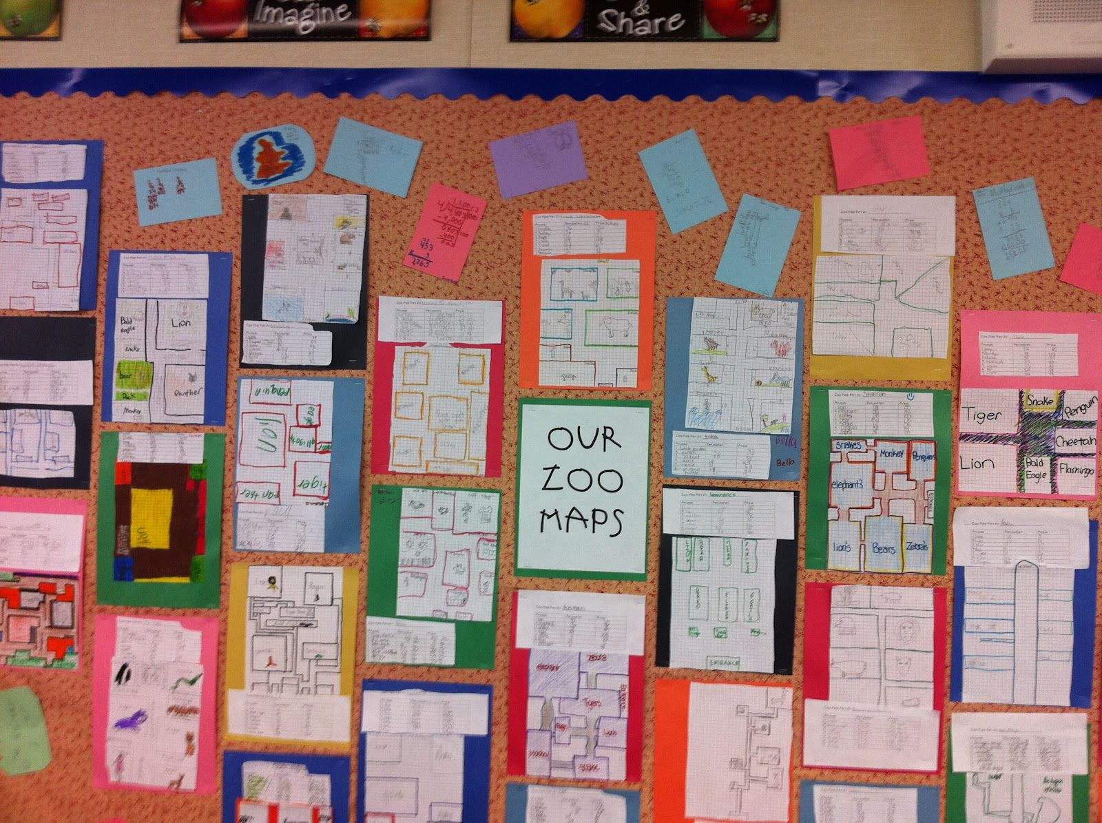 Area And Perimeter With Zoo Maps With Images