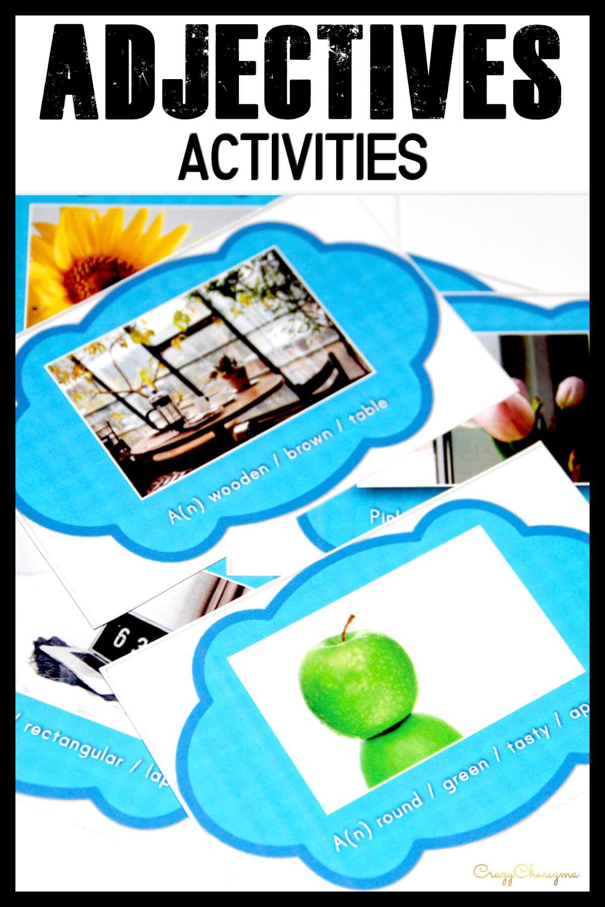 Ordering Adjectives Games Esl Grammar Practice