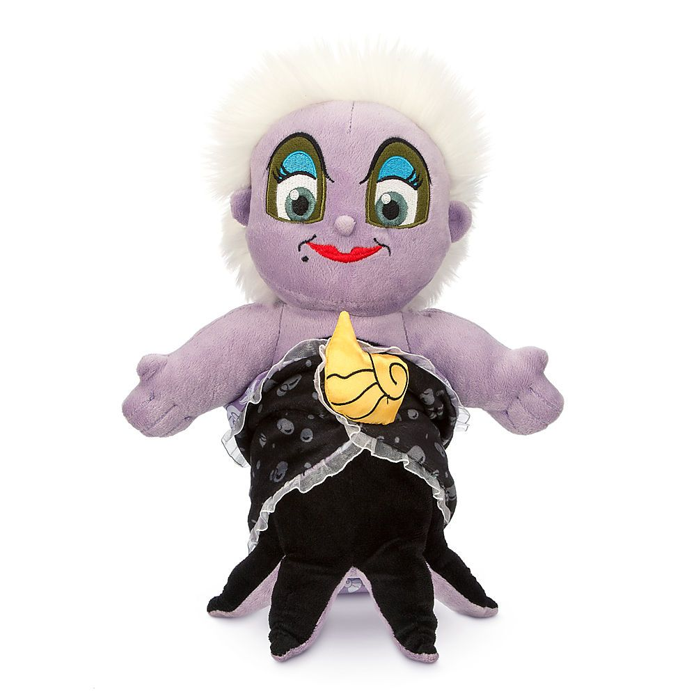 Disney S Babies Ursula Plush Doll And Blanket Small 12