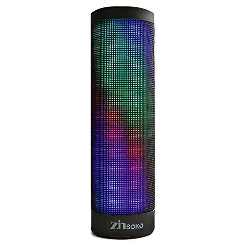 Zinsoko Bluetooth 40 Wireless Portable Speakers with LED Lights and Builtin Microphone * Be sure to check out this awesome product.