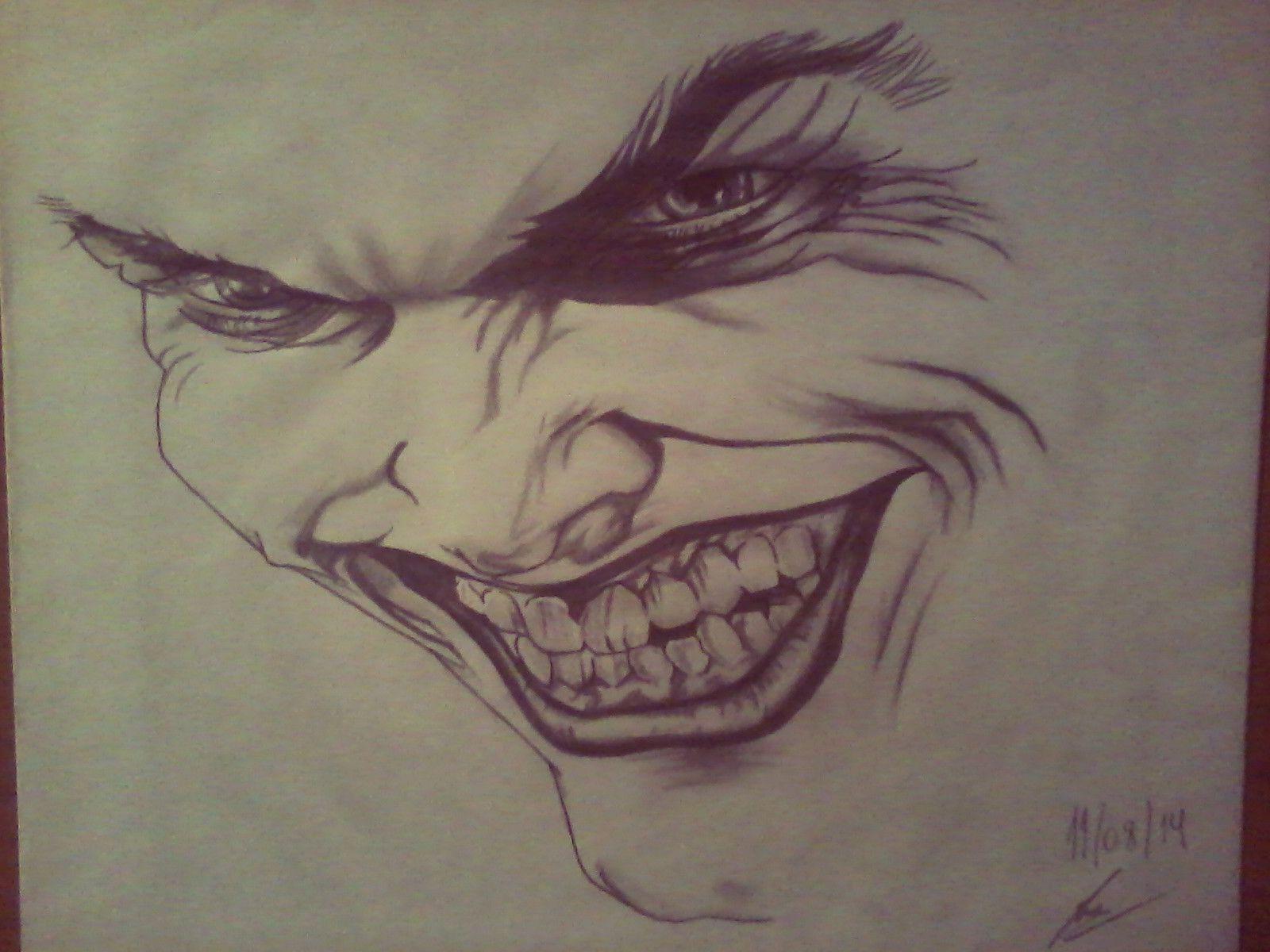 Joker Scribble Drawing : The joker dibujos